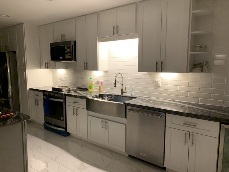 Az Express Services Back Splash kitchen remodel at chandler