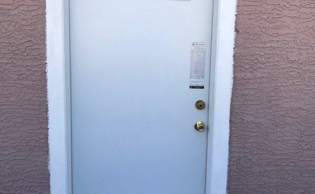 Exterior Prehung Door From Home Depot Replacement In