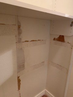 handyman dry wall repair closet walls before and after chandler az7