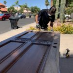 exterior-paint-creative-painting-services-wood-door-stain-local-handyman-refinishing-wood-doors