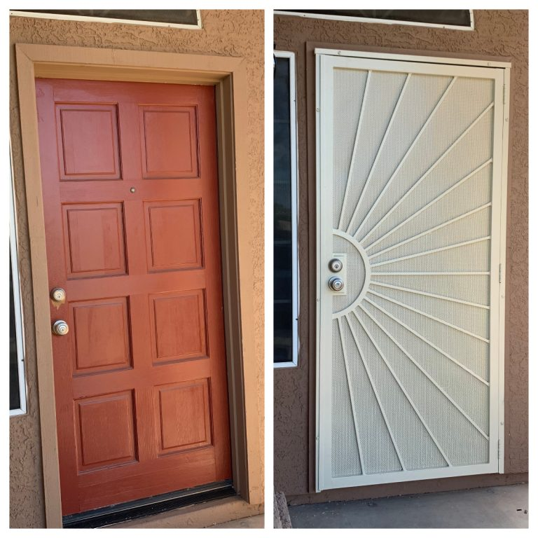 Security Screen Door Installation - Az Expres Services LLC