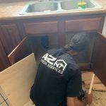 local-handyman-phoenix-85041-kitchen-cabinet-repair-water-damage