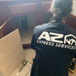 kitchen-cabinet-repair-local-handyman-phoenix-85041-water-damage